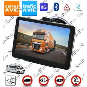 PACK GPS AUTO GPS POIDS LOURD CAMION BUS CAMPING CAR 7 POUCES