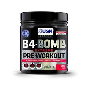 PRÉ-ENTRAINEMENT USN B4 Bomb Pre Workout 300 gr Fruit Fusion