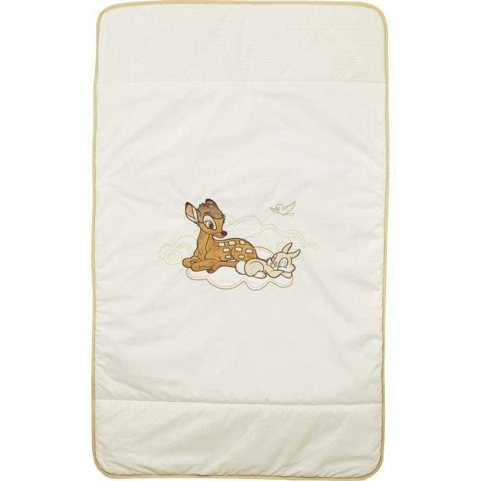 Couvre lit bébé pour lit 60 x 120cm - Mixte - Dès la naissance - Livré à l'unitéEDREDON - COUVERTURE - PLAID BEBE