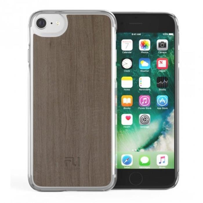 FOLLOW UP Coque Parisian Cover Iphone 7 plus - Bois beige