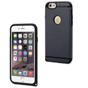 MUVIT Coque Shockproof - Apple Iphone 6+ / 6s+ - Resistante - Noire
