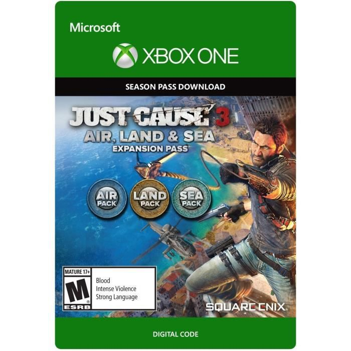 DLC Just Cause 3: Expansion Pass Land, Sea, Air pour Xbox One