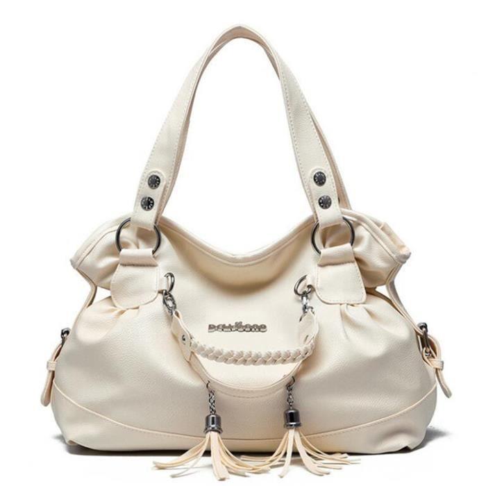 check-out prix de la rue meilleure sélection de jnb218 sac à main cuir beige