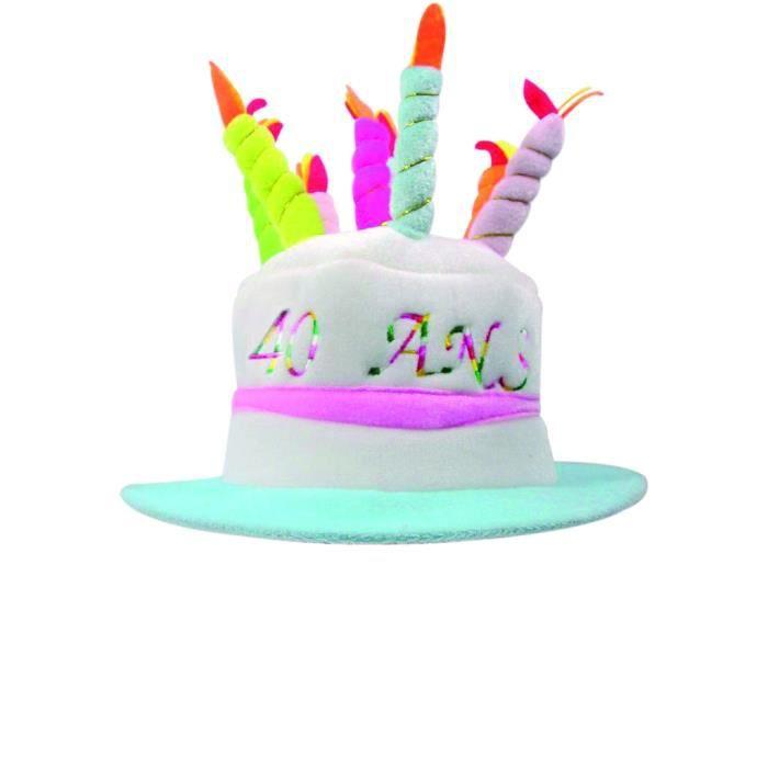 Gâteau 40 Achat Vente Chapeau D'anniversaire Ans thsrCBQdx