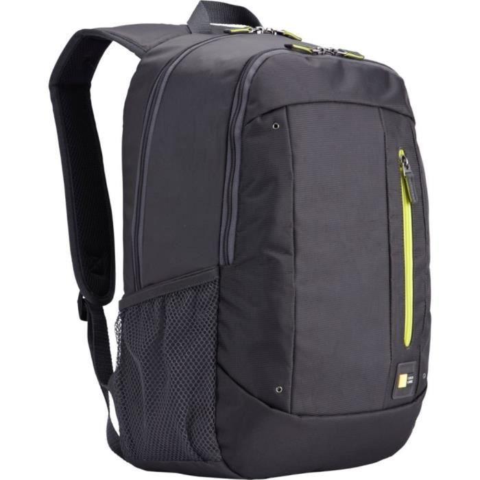 0a6db7d2f6 Case Logic WMBP115GY Sac à dos en nylon pour Ordinateur portable 15,6