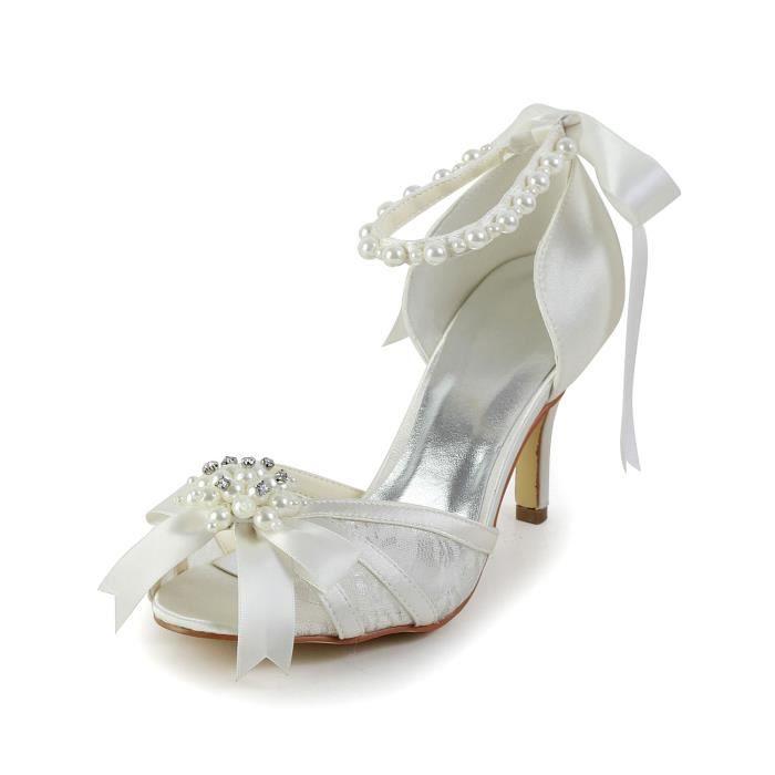 Jia Jia Wedding 083907 chaussures de mariée mariage Escarpins pour femme