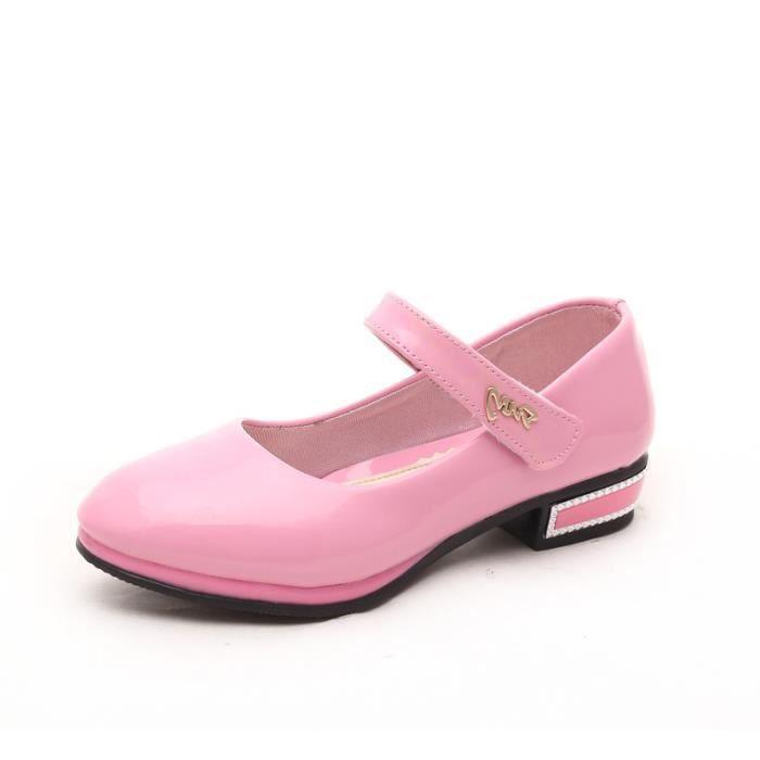 IZTPSERG chaussures Velcro Ballerine couleur bo... 6fnVl