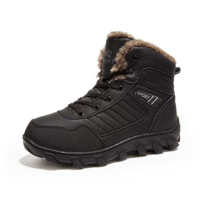 coton Bottes mode Bottes pour l'hiver Chaussures courtes Chaussures chaudement étanches Bottes avec Chaussures homme Bottes 7q5xUX