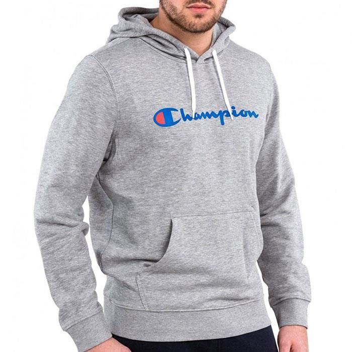 SWEATSHIRT Sweat CHAMPION homme S7H7C9P044 gris. La Boutique des Marques ... cb72b8e7127b
