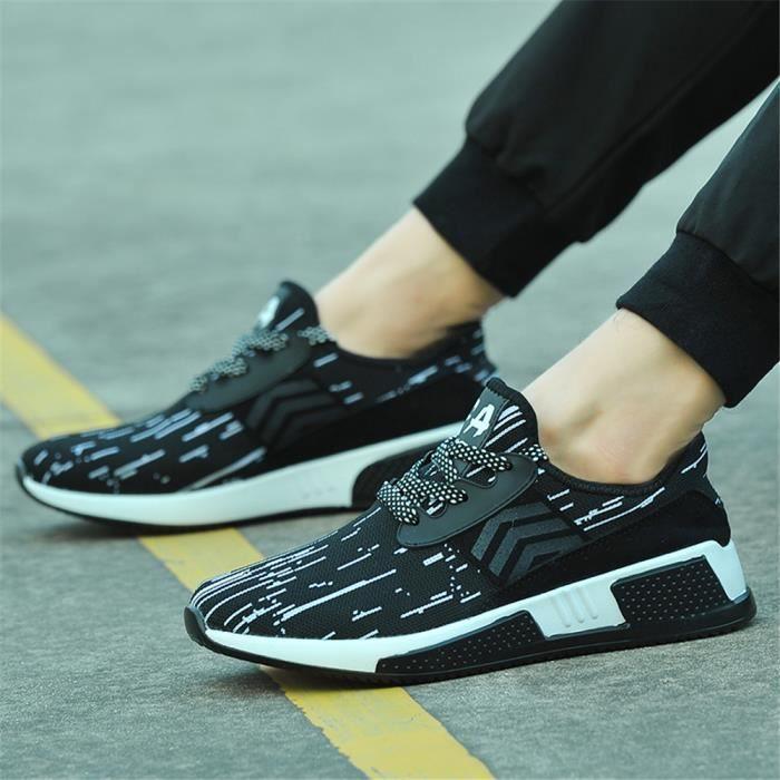 rouge Personnalité Noir Plus Confortable Loisirs Cool De Arrivee Poids Chaussures Sneakers Respirant Homme blanc Sandales Nouvelle Couleur Loafer qxZRPCTwEw