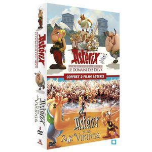 DVD DESSIN ANIMÉ DVD Coffret 2 films Astérix - Le Domaine des Dieux