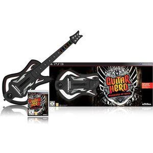 JEU PS3 GUITAR HERO Warriors of Rock + GUITARE / Jeu conso