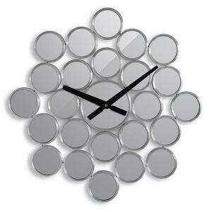 HORLOGE - PENDULE IMMANENCE Horloge murale miroir Ø37cm