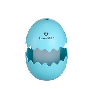 HUMIDIFICATEUR ÉLECT. Mini Egg Ultrasonic Humidifier LED Home Office voi