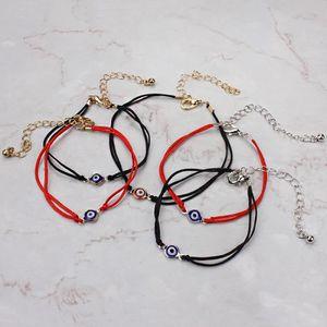 BRACELET - GOURMETTE Br5192 Bracelet mixte Chaîne de corde rouge bleu fc4d09a06b47