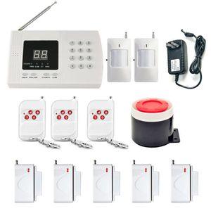 KIT ALARME Kit Alarme Maison Sans Fil PSTN Système d'Alarme d