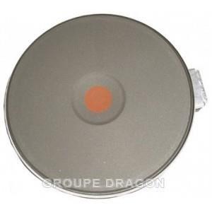 PIÈCE APPAREIL CUISSON Plaque electrique rapide ø180 2000w/230v pour tabl