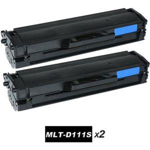 TONER TWIN PACK (2 x Noir) = Samsung MLT-D111S Cartouche