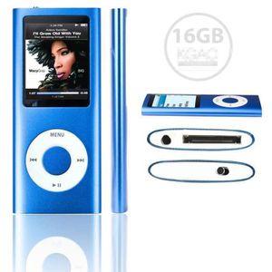 LECTEUR MP4 LECTEUR MP3 MP4 - FOLVO 16GB - STYLE IPOD 16GO - V