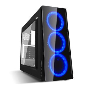 UNITÉ CENTRALE  Pc Gamer Deathmatch 5 Blue AMD Ryzen 5 2600  - nVI