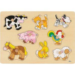 PUZZLE Puzzle à Encastrements Bébés Animaux