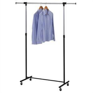 PENDERIE MOBILE Portant simple à vêtements SIGGI penderie sur roul
