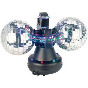 BOULE A FACETTES Boule à facettes motorisée avec LED multicolores -