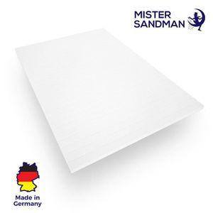 SUR-MATELAS Surmatelas 80x200 cm mousse confort housse microfi
