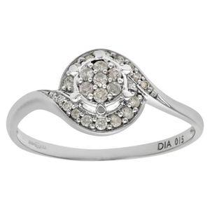 BAGUE - ANNEAU Revoni Bague Diamant Or Blanc 375° Femme: Poids du