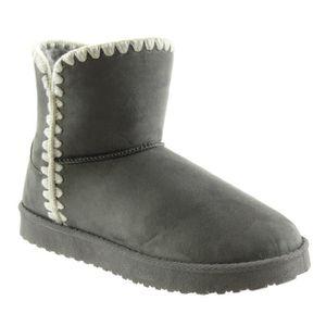 BOTTINE Angkorly - Chaussure Mode Bottine bottes de neige