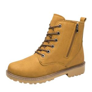 Hommes Low cheville garniture plate cheville automne hiver bottes occasionnels Martin chaussures@hyu-268 Hnn9Okymd5