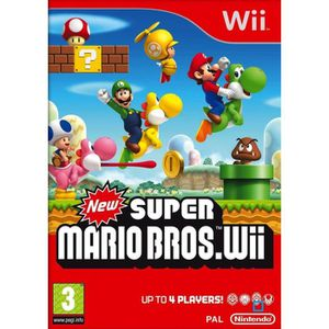 JEU WII New Super Mario Bros. Wii - Ensemble complet - Wi…