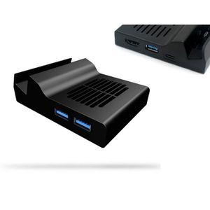 DOCK DE CHARGE MANETTE Qumox station de charge Dock Portable pour Nintend