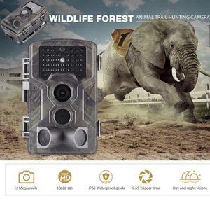 PACK CAMERA SPORT Caméra de Chasse Étanche Surveillance 12MP 1080P H