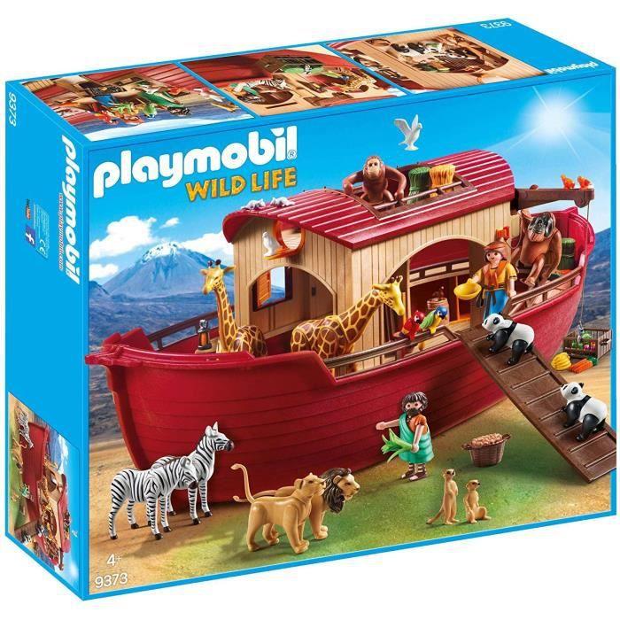 PLAYMOBIL 9373 - Arche de Noé avec animaux