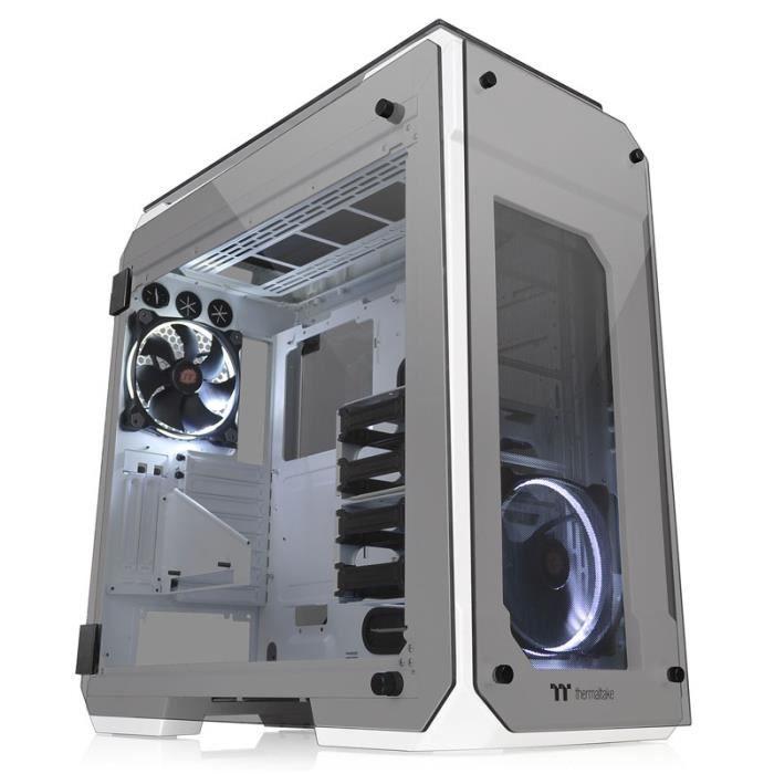 THERMALTAKE Boitier PC View 71 TG Snow Edition - Moyen tour - Blanc