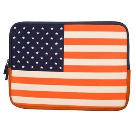 URBAN FACTORY Sacoche pour ordinateur portable - Protect Sleeve Neopren Flag Sleeve - 12.1\