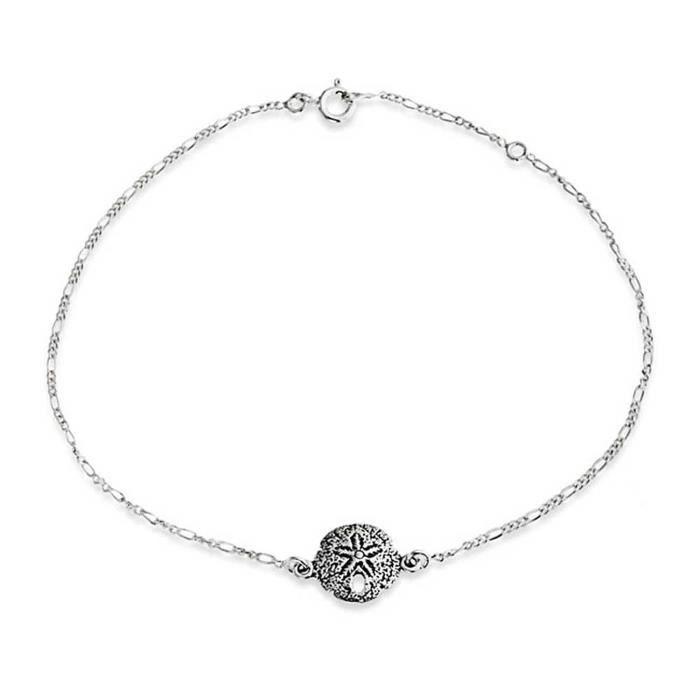 Chevillere - Bling Jewelry Bracelet de cheville Argent 925 Argent