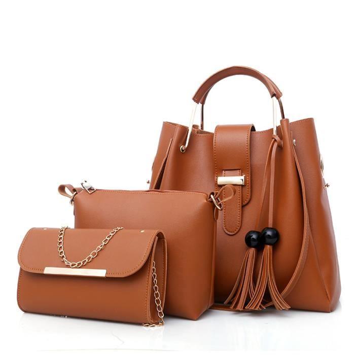 sac à main Hot Femme Femme Mode en cuir PU femmes Totes dames bourse en cuir Bolsas Femininas-763