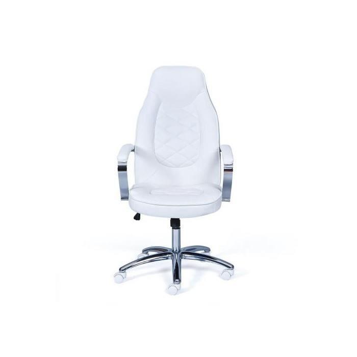 Fauteuil De Bureau Brenta Blanc Achat Vente Chaise De Bureau