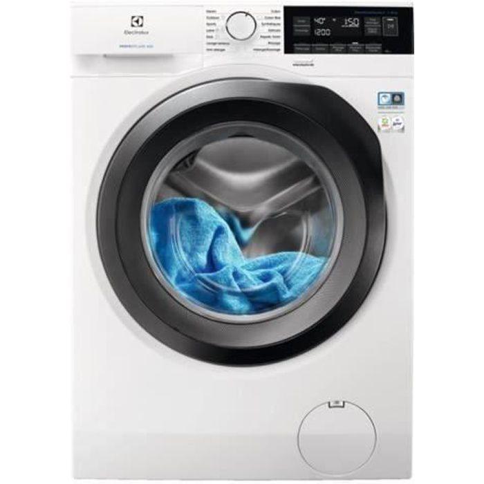 Carte Bleue Machine A Laver.Electrolux Perfectcare 600 Ew6f3811ra Machine A Laver Freestanding Largeur 60 Cm Profondeur 54 7 Cm Hauteur 85 Cm