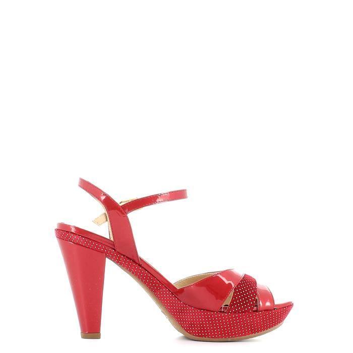 Grace shoes Sandales à talons hauts Femmes Rouge