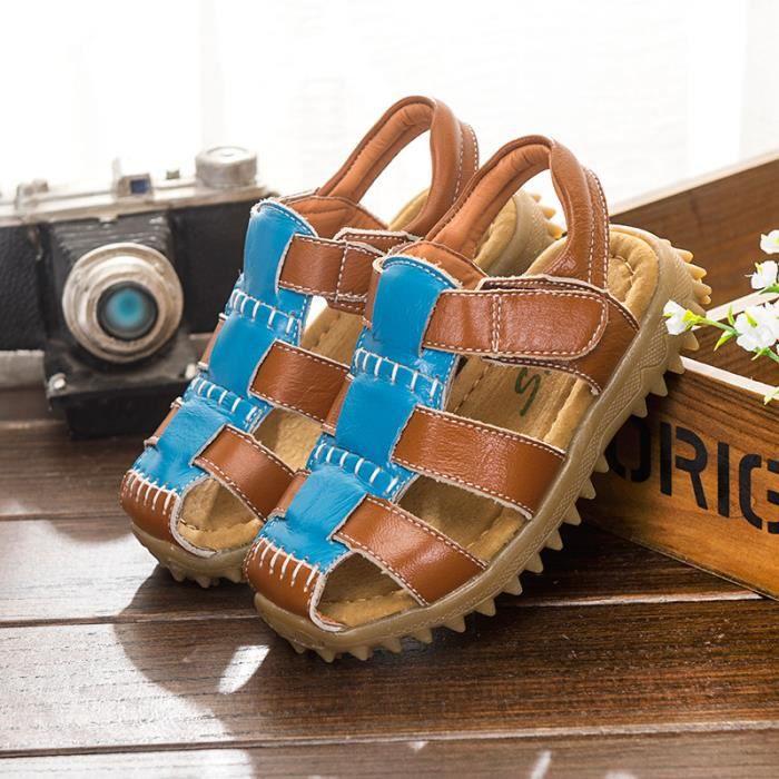 Été sport sandales chaussures enfants garçon Jaune kWkNjVD9