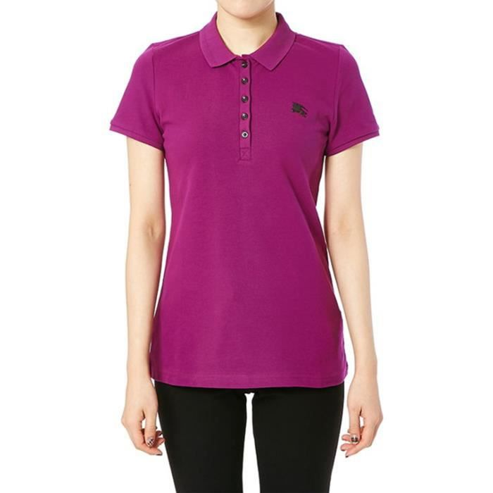 BURBERRY BRIT - Polo pour Femme YNG85118 (rose - S) Rose Rose ... ee9780cae42c
