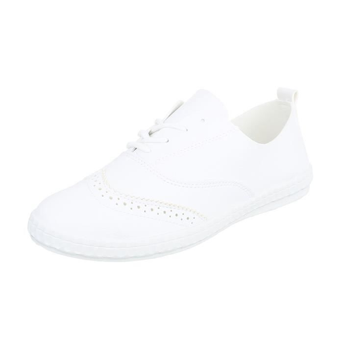 Chaussures femme chaussures sportSneakers blanc 41 G3dRAK