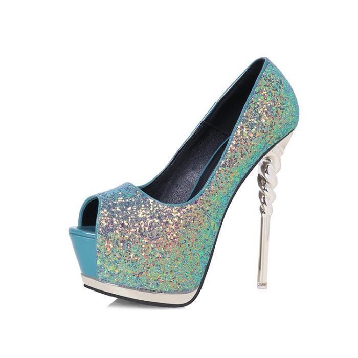 Escarpin Patchwork Low Cut Femmes Pompes Sexy OL style Chaussures à talon mince 2414062 Ps1LBWmoY