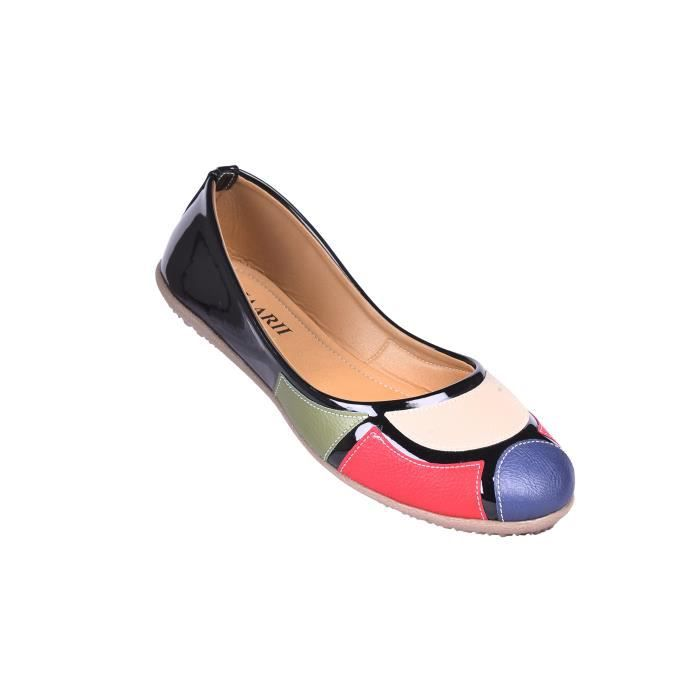 ballerines synthétiques pour femmes X9SV1 Taille-38