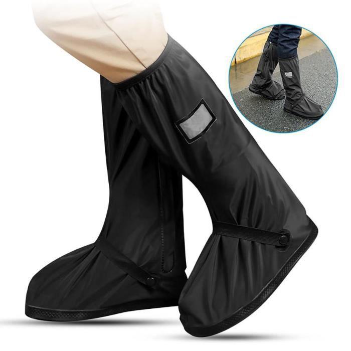 CHAUSSURE - BOTTE Couvre Chaussure Pluie Housse de Chaussures étanch