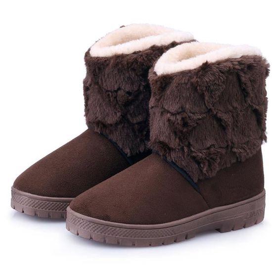... Lacets Femmes D hiver les Bottes À Martin Deessesale Doublé Chaussures  Plates De Wy7294 Cheville ... 40deeeecdd96