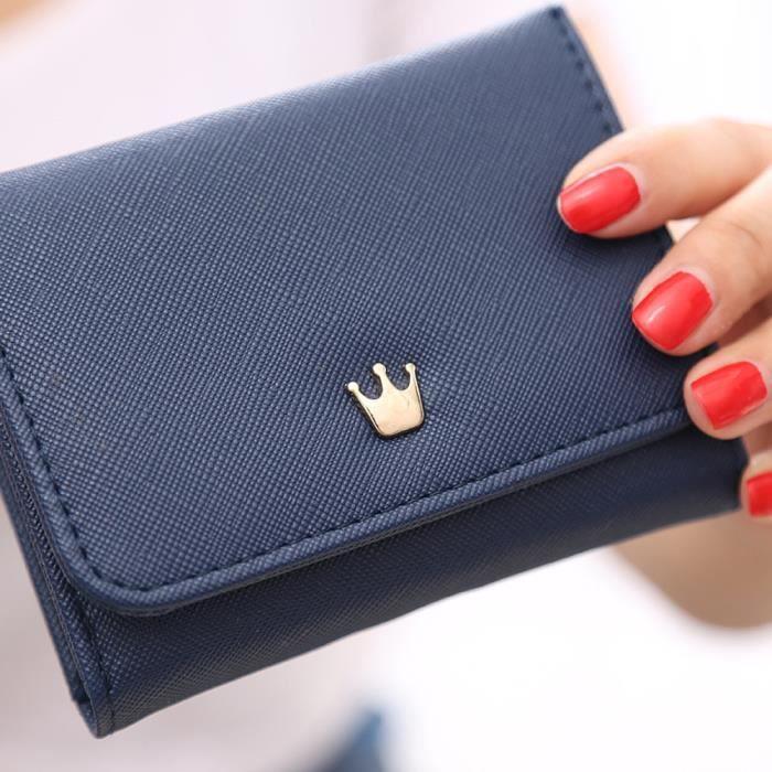 yll70707525bu monnaie De Portefeuille Pour 109 Portefeuilles Femmes Porte Cartes Bleu Couronne 6qgqzw7